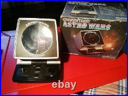 Rare Boxed Astro Wars Vintage 1981 Tabletop Electronic Game Working Order