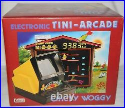 Retro Vintage Vtech Chicky Woggy Electronic Arcade Tabletop Game Boxed/nos