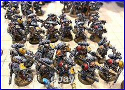 Space Wolves Warhammer 40k Army Well Painted (High TableTop Quality)