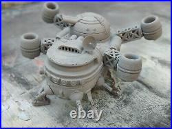 Spaceship model with interior for for 28mm tabletop games stargrave warhammer