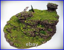 Stepped Spiral Tabletop Wargaming, D&D 3D printed hill scatter terrain