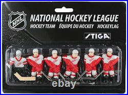 Stiga Stanley Cup Table Top Rod Hockey Game DETROIT-TORONTO FREE SHIPPING