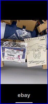 Street Fighter 2 II Rock'Em Sock'Em Tabletop Game 1993 Capcom Tiger Electronics