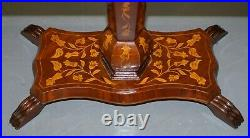 Sublime Antique Dutch Games Card Table With Chess Board Top Marquetry Inlaid