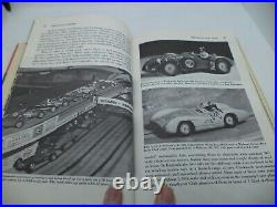 TABLE TOP CAR RACING old vintage game SCALEXTRIC very rare book DEMPEWOLFF 1960S