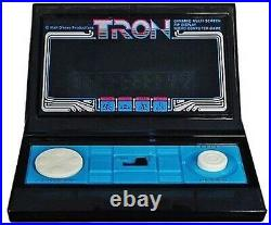 TRON LSI Tabletop Game Console TOMY 1981 Walt Disney Very Rare Vintage Item USED