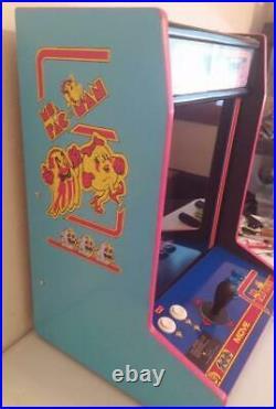 Tabletop Bartop Arcade Game MS Pacman Themed