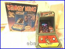 Tabletop Colleco by Nintendo Donkey kong Arcade Automat VERY RARE