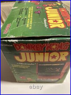 Tabletop Nintendo Game Watch Donkey Jr. Game & Watch Coleco, Bandau, Sega, Retro