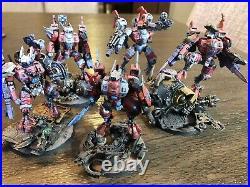 Tabletop Painted Tau Warhammer 40k Army