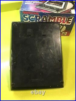 Tabletop Scramble Grandstand, game & watch, Nintendo, Casio, Lcd Game, lsi Game