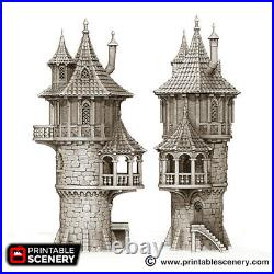 The Wizard Tower 28mm Tabletop Games D&D Terrain Wargaming Dwarven Forge