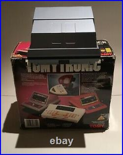 Tomy Tomytronic Alien Attack Electronic Game Near Mint Works Super Original Box