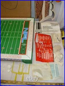 Tudor NFL Electric Football Table Top Vibrating Game Boxed