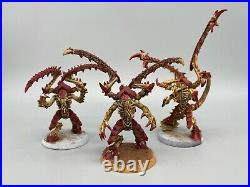 Tyranid lictor x3 warhammer 40k Hive Fleet Kraken Painted Tabletop Plus #A8