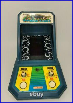 VINTAGE 1981 GALAXIAN MIDWAY COLECO MINI ARCADE TABLETOP GAME Video Test Workin