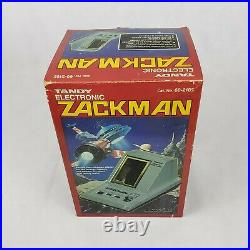 VTG 1984 Tandy Electronics SPACE EXPLORER ZACKMAN Handheld Tabletop Game in box