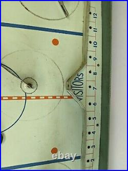 Vintage 1950's Eagle Toys NHL Pro Hockey Table Top Game 2 Pro Teams Included