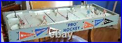 Vintage 1950s Eagle Table Top Pro Hockey Game