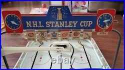 Vintage 1960s Stanley Cup Table top rod hockey Game Eagle Coleco NHL With Box