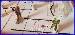 Vintage 1963 Antique Munro Games NHL Table Top Rod Hockey Game Tin Litho Canada