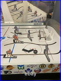 Vintage 1985 Coleco NHL Stanley Cup Playoff Hockey Tabletop Game Original Box
