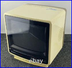 Vintage 1987 Magnavox PerfectView 9 Tabletop Color CRT TV AC/DC Gaming Retro