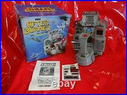 Vintage Boxed after burner Tabletop LCD game tested working