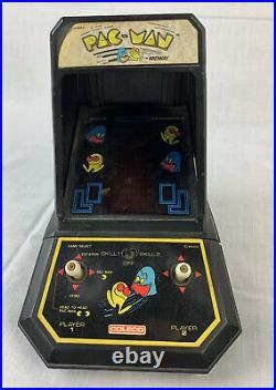 Vintage Coleco Pac-Man Video Game Table Top 1981 Midway Mini Arcade 80s USA