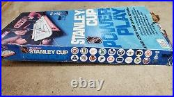 Vintage Coleco Power Play Tabletop NHL Hockey Game Box Players Scoreboard Goals