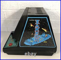 Vintage Coleco ZAXXON Tabletop Handheld Arcade 1982 Sega Video Game Not Working