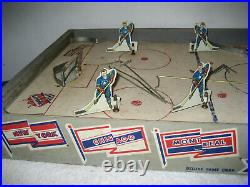 Vintage Deluxe game Corporation. Table Top Hockey Game 1940s-50s