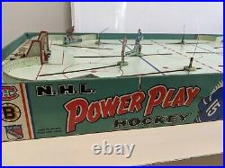 Vintage Eagle Toys NHL Pro Hockey Table Top Game 2 Pro Teams Included