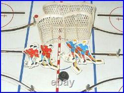 Vintage Eagle Toys Table Top N. H. L. Stars Hockey Game