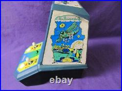Vintage Galaxian Coleco Mini Tabletop Arcade Game