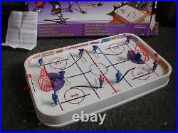 Vintage Hot Shot Hockey Game Table Top Complete Canada v U. S. A. 3D Players