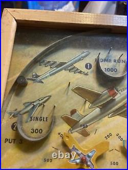 Vintage Jet Age No. 443 Table Top Play 4 Games Payent Pending Made USA