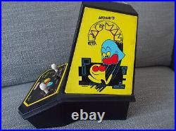 Vintage Pac-Man Coleco TableTop Arcade by Midway WORK! French Version Francaise