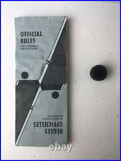 Vintage Pro League Hockey Table Top Rod Hockey Game MADE IN THE USA 1970