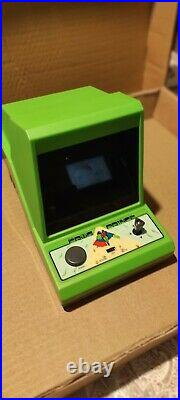 Vintage ROMTEC FROG PRINCE Table Top /Boxed 80s Game & Watch