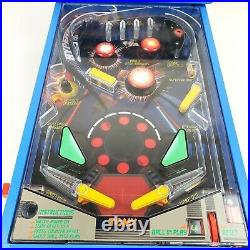 Vintage TOMY ASTRO SHOOTER Table Top Pinball Game Tested & Works, Needs Some TLC