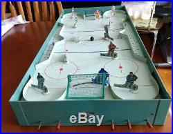 Vntg 1950's Eagle Toys NHL PRO Hockey Game, Original Box PH-12, Leafs, B. Hawks
