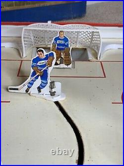 Vtg 1950's ALL STAR CANADIAN HOCKEY Table Top GAME SEARS With BOX Great Shape