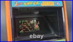 Vtg 80's Nintendo Coleco Donkey Kong & Jr Tabletop Arcade Game Lot FREE US SHIP