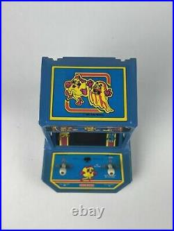 Vtg Coleco 1981 MS PAC-MAN Battery Powered Tabletop Arcade Game (Tested Works!)