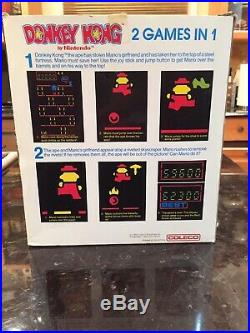 Vtg Coleco The Official Donkey Kong Table Top Game Exc With Original Box 1982