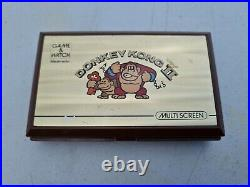 Vtg Nintendo game & Watch donkey kong 2 handheld Tabletop LCD game working