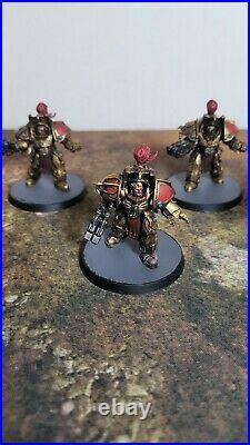 Warhammer 40K, Adeptus Custodes Army, 6 Aquilon Terminators Painted Tabletop++