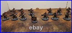 Warhammer 40K, Adeptus Custodes Army Painted Tabletop++. Vanguard Detachment