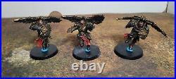 Warhammer 40K, Adeptus Custodes Army, Vanguard Detachment Painted Tabletop++